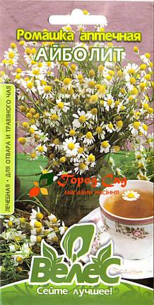 Семена ромашки аптечной Айболит 0,3г ТМ ВЕЛЕС, фото 2