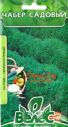 Семена чабера садового Остер 0,5 ТМ ВЕЛЕС, фото 2