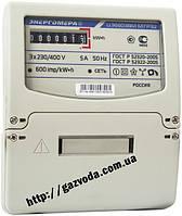 Трехфазный  Однотарифный счетчик для трехфазных сетей ЦЭ6803В 1 100В 5-60А 3ф.3пр. М7 Р32 Энергомера