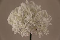 Тычинка искусственная белая 5633-1-8
