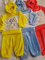 """Детский махровый костюм""""Заяц""""  для малышей"""