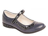 Школьные туфли синие ТМ Lapsi Лапси (размер 29)