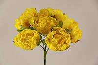 Цветок Хмеля искусственный желтый (букет) 5635-1-19