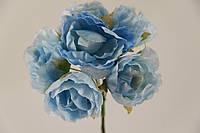 Цветок Хмеля искусственный голубой (букет) 5635-1-19