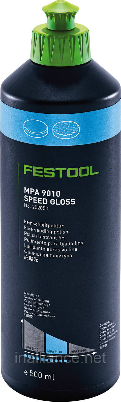 Паста полировальная универсальная, паста шлифовальная универсальная MPA 9010 BL/0,5L, Festool 202050
