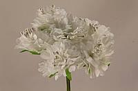 Пион искусственный белый (букет) 2015-1-7-1