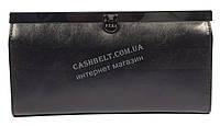 Оригинальный матовый женский кожаный кошелек высокого качества PTK art.1-9039 черный