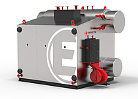 Парогенератор серии Е  давлением до 0,9 МПа (газ,мазут) Е-2,5-0,9ГМН(Э)