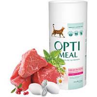 OptiMeal для котов с телятиной 650гр