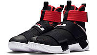 Мужские кроссовки Nike Lebron Soldier 10 Black/Red/White