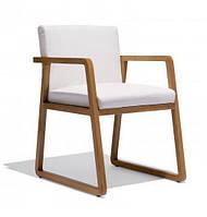 Стул -Трапеция-. Деревянный, мягкий стул для кафе, ресторана., фото 1