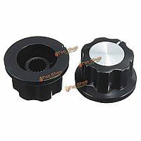1шт A01 пластик черный Ручка управления инструментом бакелитовой указатель на радио усилитель