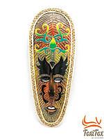Настенная маска из дерева 55 см