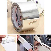17m × 6см фольга лента Argento серебро Nastro ADESIVO cuciture пластинкой costruzione
