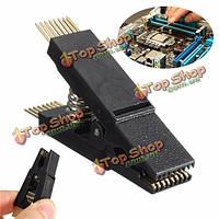 1.27мм программист тестирование клип SOIC16 sop16 DIP16 контактный адаптер платы IC зажим