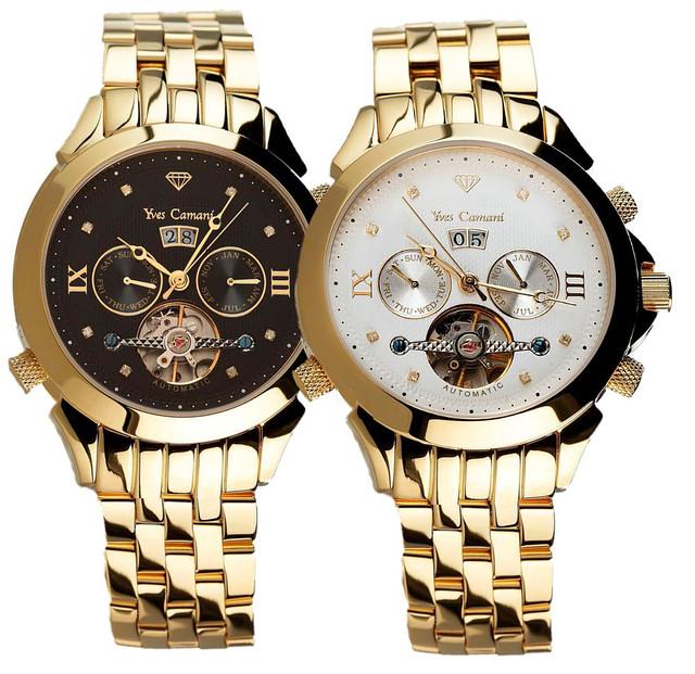 Механічні наручні годинники Yves Camani Navigator Diamanten - 4 варіанти