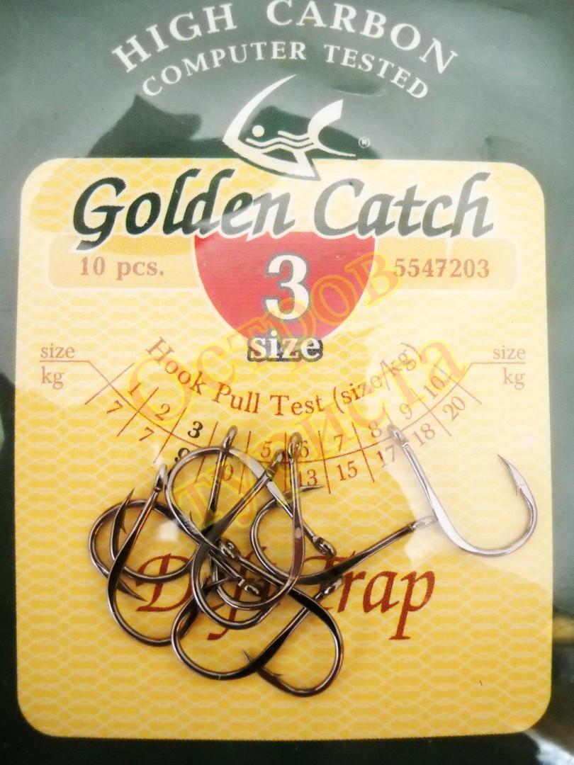 Крючки Golden Catch  Deft Trap № 3  10шт