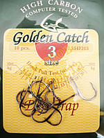 Крючки Golden Catch  Deft Trap № 3  10шт, фото 1