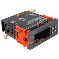 220В ЖК-дисплей цифровой регулятор температуры датчик температуры реле