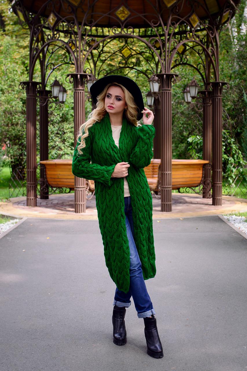 Что одеть с зеленым длинным м