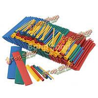 260 шт. 2 : 1  4 цвета  8 размеров Полиолефиновые термоусадочные трубки