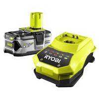 Аккумулятор и зарядное устройство Ryobi RBC18L40
