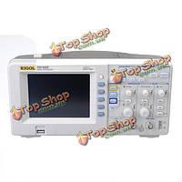 RIGOL DS1052E 5.6-дюймов TFT LCD  50МГц 2-канальный 1gsa/с цифровой запоминающий осциллограф ScopeMeter цвета с высоким пробника напряжения