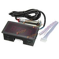 Красный LED спидометр тахометр мин с датчиком бесконтактного выключателя NPN