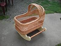 Кроватка плетеная для младенцев