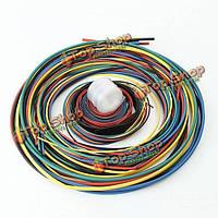 11 Размер 6 цветов 55м/набор полиолефин 2:1 безгалогенные термоусаживаемые трубки