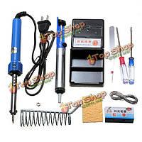 9в1 набор инструментов электрический паяльник с утюгом стоять отпаяйте насос
