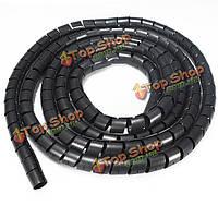 3.5м спираль трубки гибкие кабель кабель провод аккуратно организационный комплект