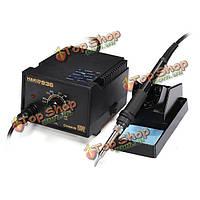 Высокое качество 220v ес подключить +936 защитой от статического электричества Набор инструментов для пайки станция