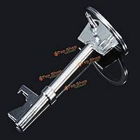 Ключ формы открывалка для бутылок кольцо брелока цепь брелок металлический инструмент пивной бар