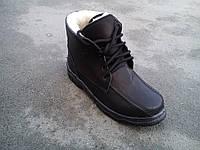 Кожаные зимние ботинки подросток 36-40, фото 1