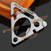 Sanrenmu sk012d Mini металла многофункциональный portablekey брелок инструменты