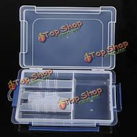 Пряжка крышка решетки прозрачный пластиковый компонент хранения Box дело