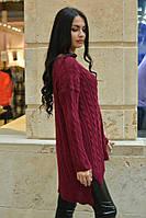 Женский объёмный  свитер