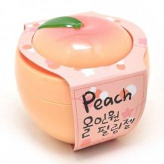 Персиковая пилинг-скатка Urban Dollkiss Peach All-in-One Peeling Gel, 100 мл