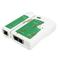 RJ12 Ethernet LAN PC инструмент тестирования проволоки RJ45 RJ11 кабельный тестер сети для cat5