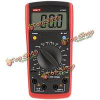 UNI-T UT603 цифровой ЖК современная индуктивность емкость метр тестер LCR метр конденсатор Омметр с HFE испытания