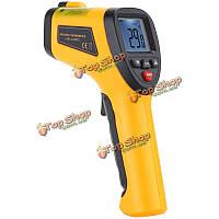 HT-861 Инфракрасный термометр лазера температура точки тестер пирометр-50° C ~ 380° C (-58° F ~ 716° F ) IR бесконтактный портативный цифровой