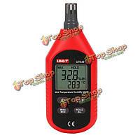 UNI-T UT333 Mini LCD  цифровой термометр гигрометр температуры воздуха и влажности измеритель влажности Мете
