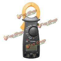 DT3266L Портативный цифровой измеритель зажим мультиметра напряжения тока тестер сопротивления с помощью теста