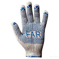 Рабочая ХБ перчатка Far уп 12 пар