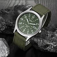 Мужские армейские часы зеленые