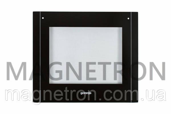 Наружное стекло двери для духовки Gorenje 420054, фото 2
