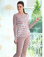 Женская пижама Mel Bee (Sahinler) MBP 23017, костюм домашний с брюками