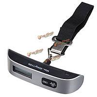 50кг цифрового багажа электронные весы портативные взвешивания веса чемодан путешествия