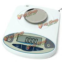 100 х 0.001г 1 мг цифровой лаборатории аналитические весы электронные прецизионные масштаб